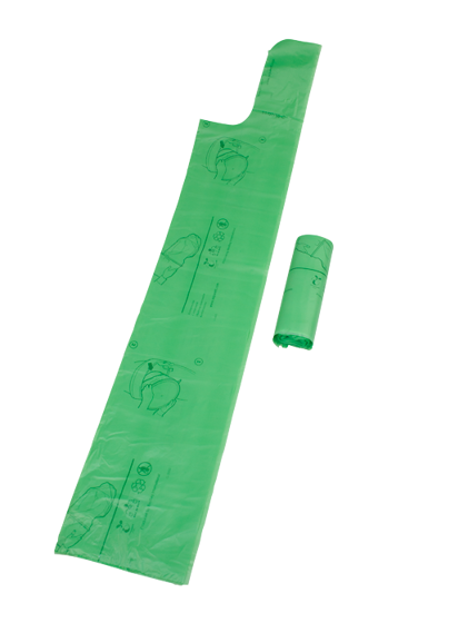 Bild på Biosäck – komposterbara latrinsäckar