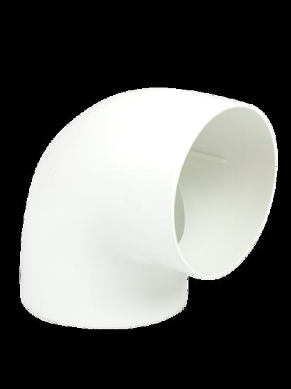 Bild på Skarvrör Separett 90° Ø75mm, Urinseparerande